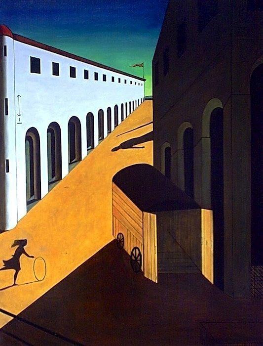 L'arte è emozione: Mistero e malinconia di una strada o Fanciulla ...
