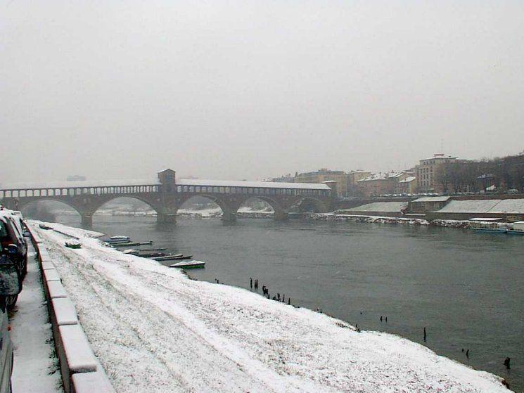 Forse domani a Pavia arrivera la prima neve