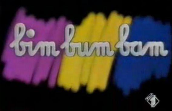 Tv vintage bim bum bam
